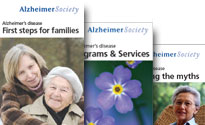 Alzheimer Society brochures and publications